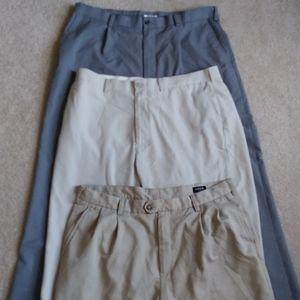 Lot of 3! Izod dress/golf pants